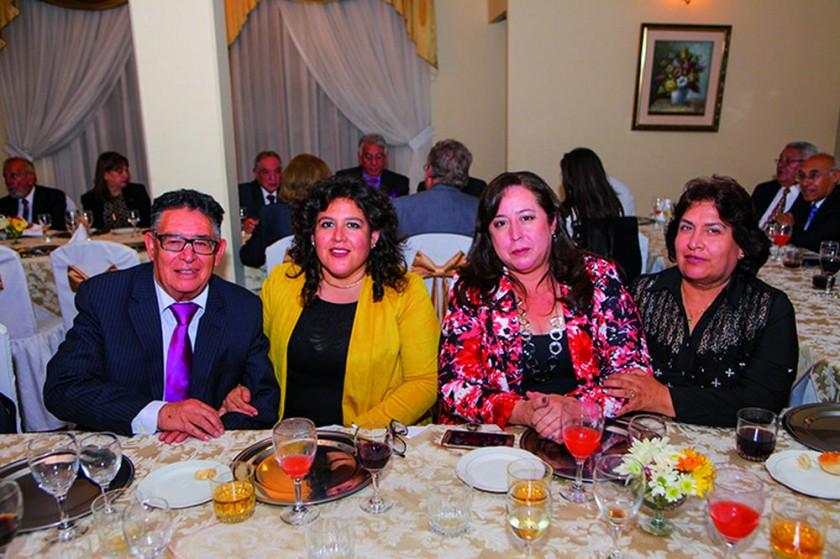 Freddy Magariños, Magaly Magariños, Escarley Martínez y Rosario Sánchez Sea.?