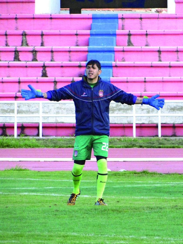 El arquero cruceño Eder Jordán hará su debut oficial con la camiseta de Universitario