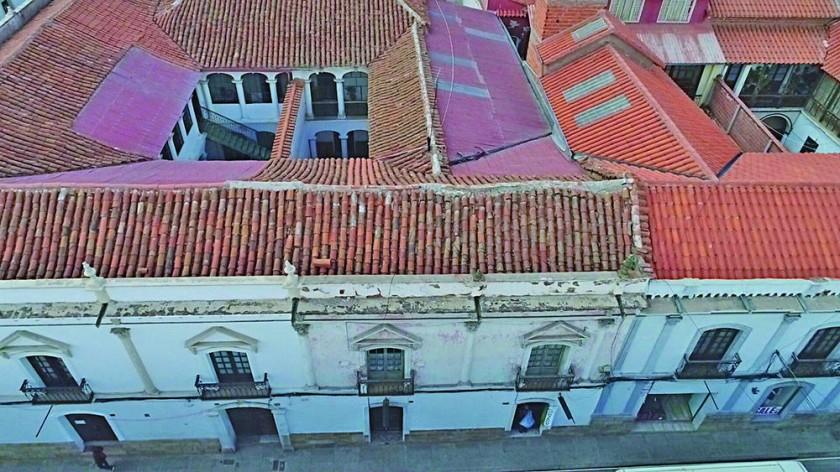 Identifican deterioros en el Casco histórico