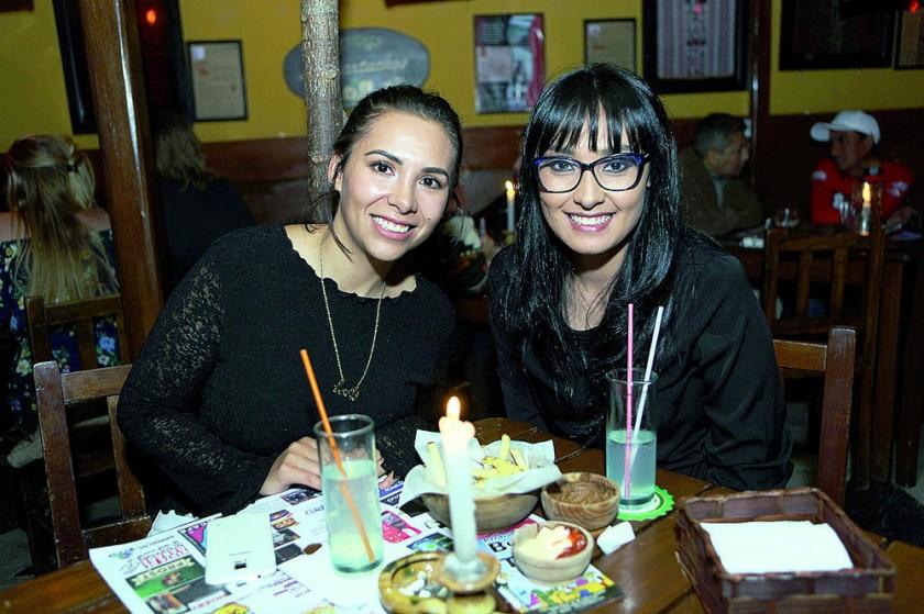 Alejandra Zárate y Laura Ramos.