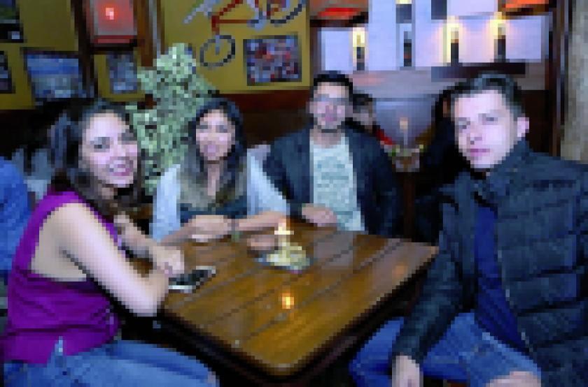 Marvín Arancibia, Pablo Delgadillo y Osman Portales.