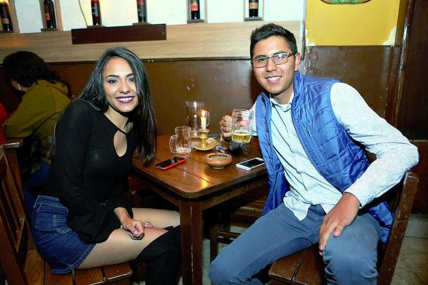 Valentina Alurralde y Mauricio Gonzáles.