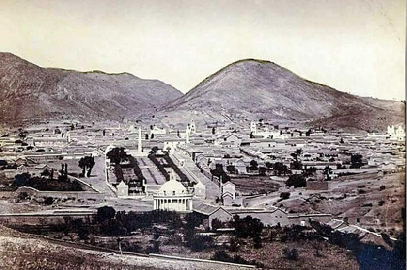 REGIÓN. Una imagen de la ciudad de la ciudad de los cuatro nombres, hoy Sucre, que data de la época...