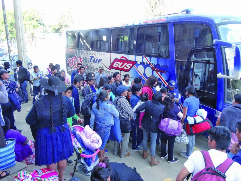 La delegación local estará en Oruro