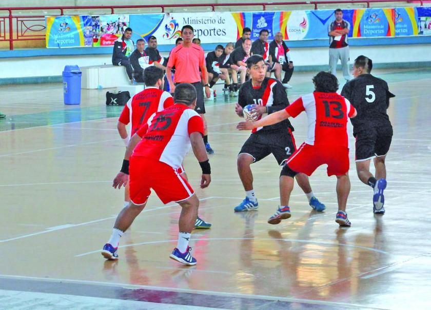 El Polideportivo de Garcilazo será el escenario de entrenamientos para las selecciones de balonmano.