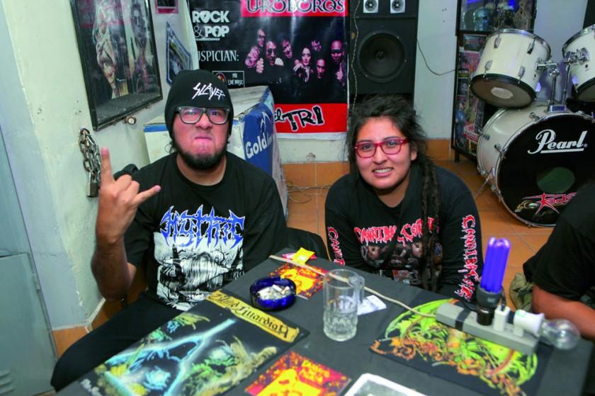 Los organizadores de Sucre Metal.