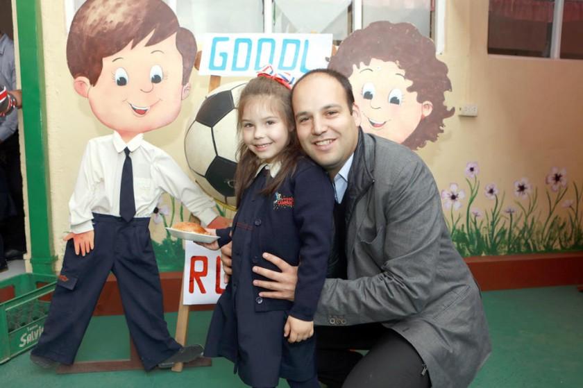 Mikaela y Miguel Grock.