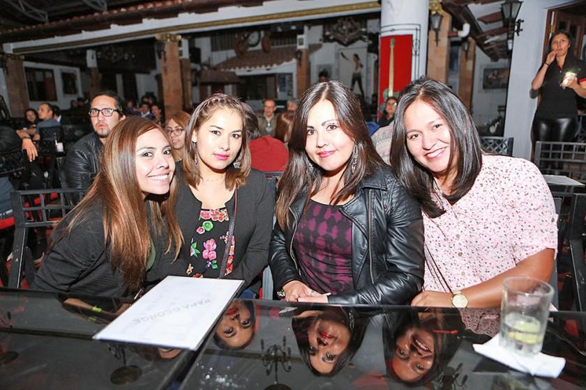 Sofía, Leona, Soraya y Rocío.