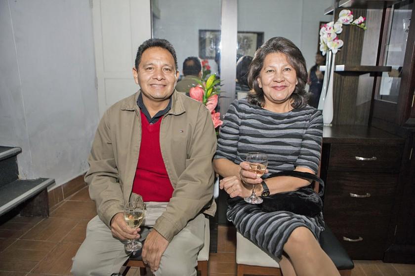 José y Doris Ortuste.