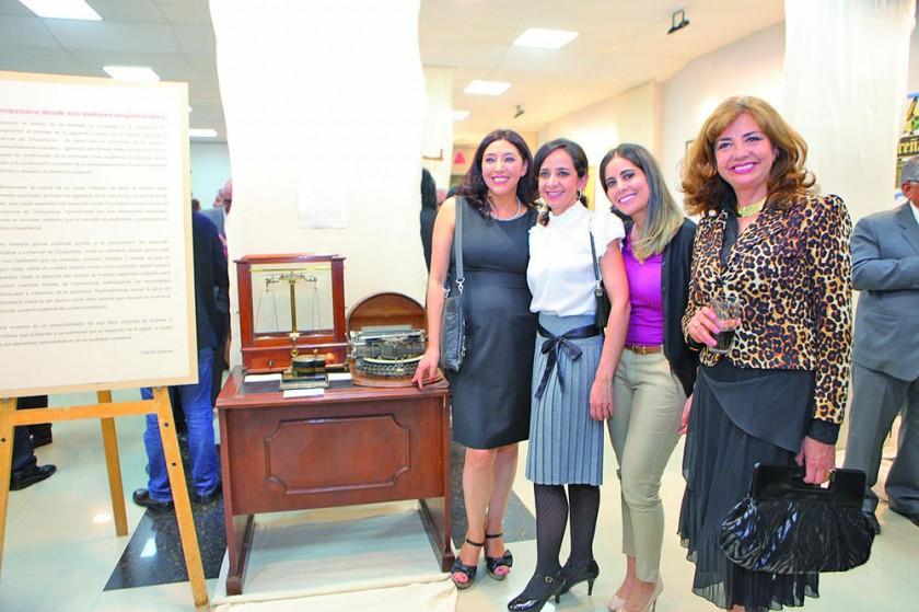 Viviana Rocha, Alejandra Barzón, Tatiana Pórcel e Inés Montero.