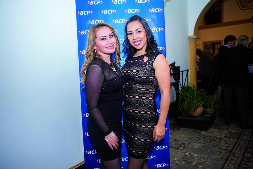 Giovanna Moscoso y Silvia Padilla.