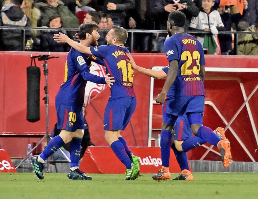El Barcelona mantuvo su invicto y el liderato de la Liga