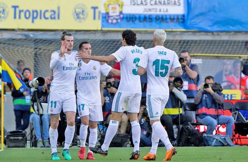 El Real Madrid ganó como visitante.