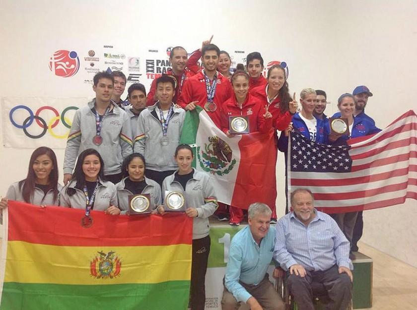 El equipo Open de Bolivia.
