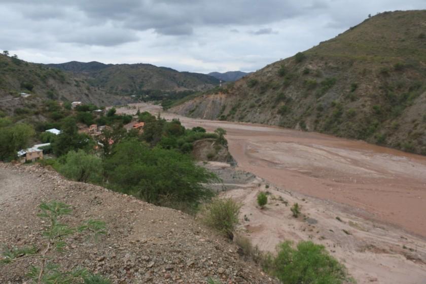 SUEÑO. Una imagen del río Cachimayu, donde la región quiere construir la represa del proyecto Cachimayu.