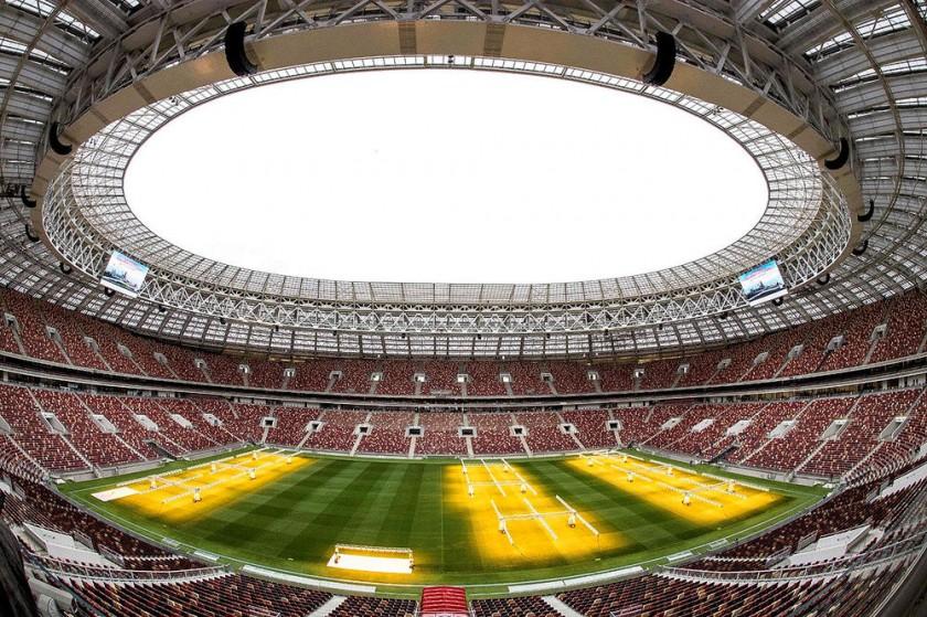 El estadio   Luzhnikí, el más importante recinto deportivo de  Rusia