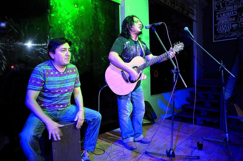 Marcelo Murillo y Ronald Villegas.