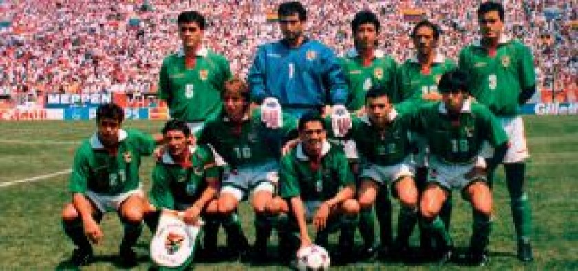 La Verde que debutó en la Copa del Mundo de EE.UU. 1994.