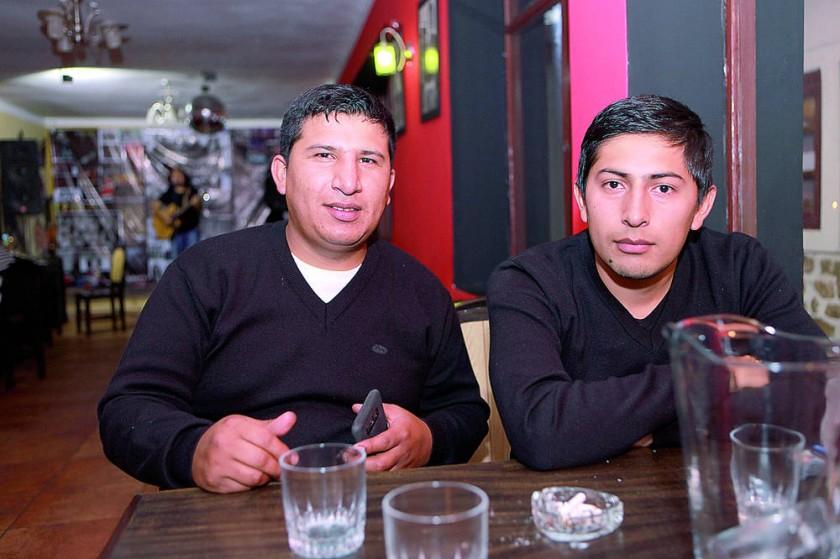 Jorge y Cristian Almaraz.