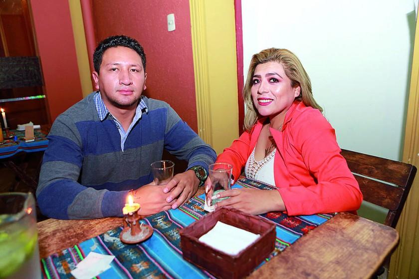 José Carrasco y Claudia Linares.