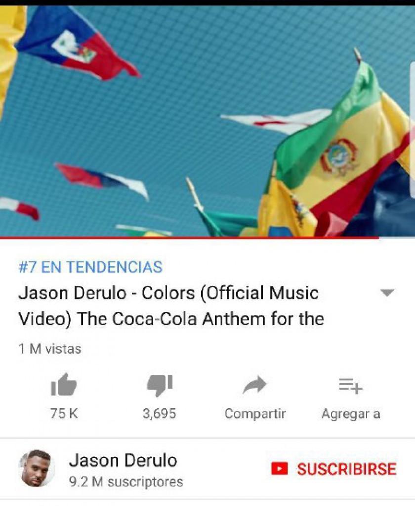Un detalle del video en el que se ve la bandera boliviana al revés. FOTO: Captura