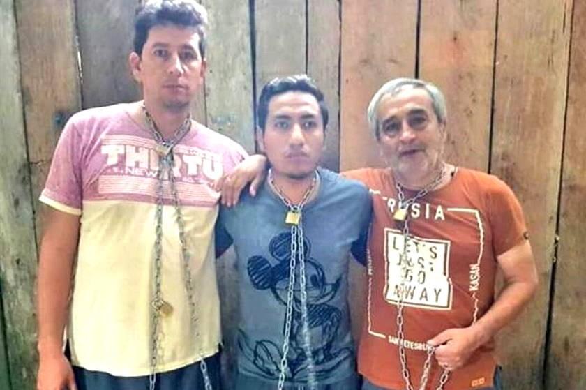 Los tres ecuatorianos del diario El Comercio de Ecuador. Foto: Internet