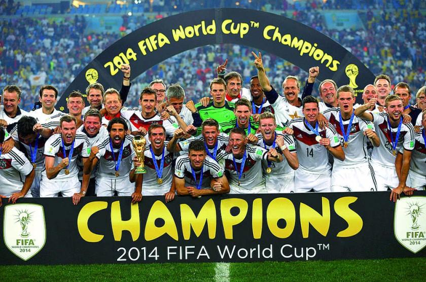 Alemania ganó la última Copa del Mundo,  en 2014.