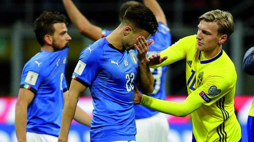 SIN MUNDIAL. Italia no pudo clasificar a la Copa del Mundo Rusia 2018 y no podrá alcanzar a Brasil en la cantidad ...