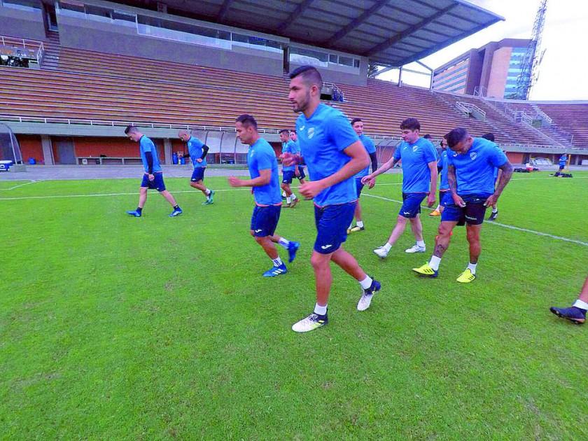 La Academia trabajó desde el pasado domingo en Medellín, donde hoy enfrentará al Atlético Nacional por la Copa...