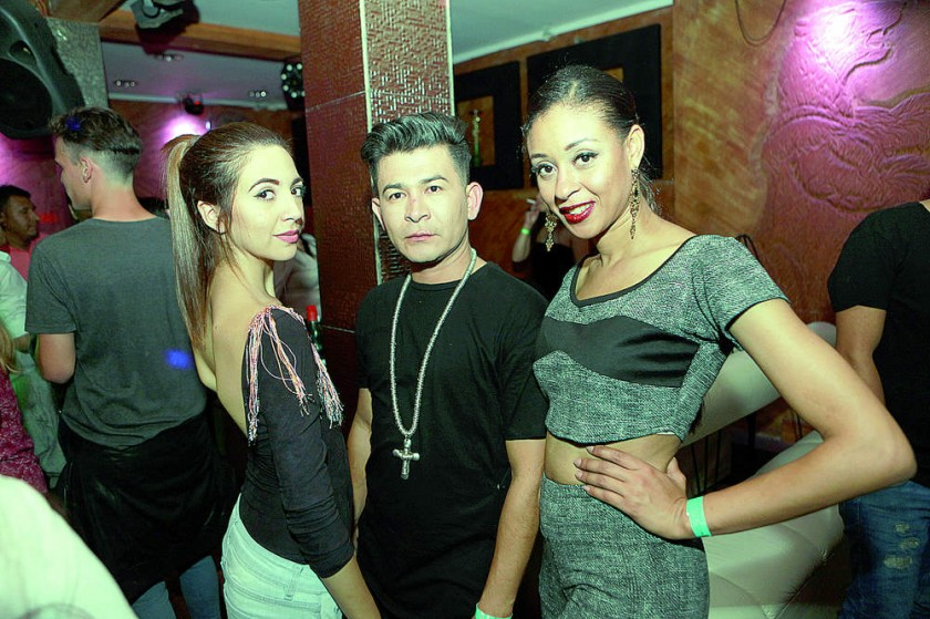 Daniela Donoso, Fernando Montenegro y Elba Fonseca.