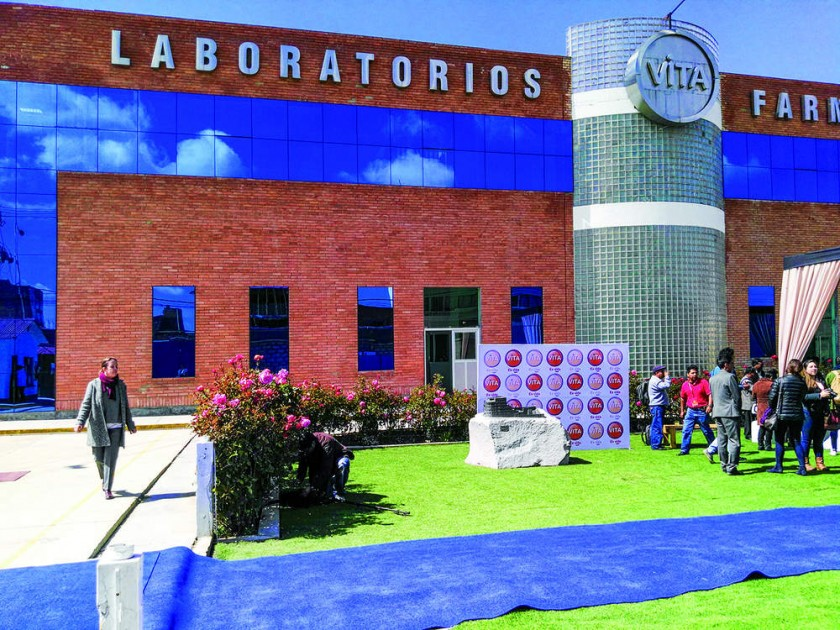 La nueva planta industrial de Laboratorios ViTA, ubicada en la ciudad de El Alto.