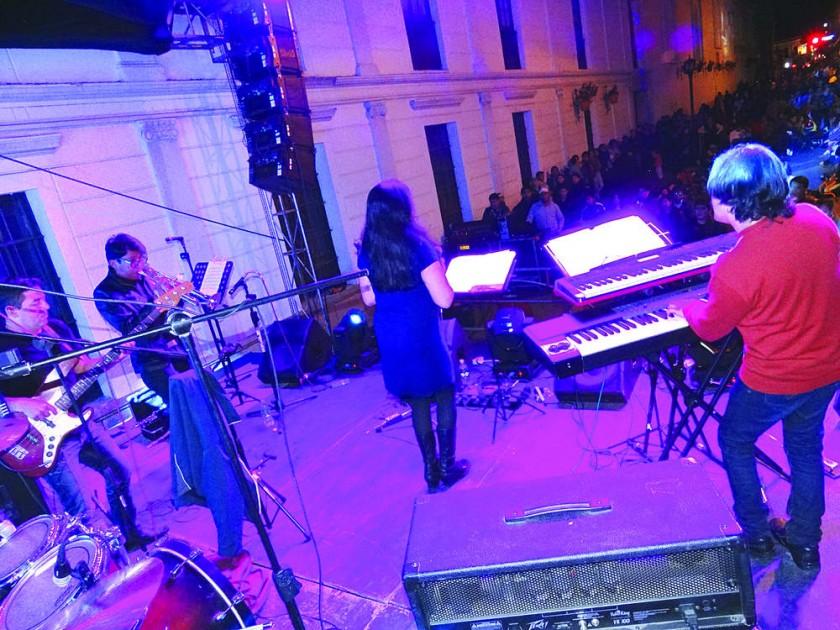 CONCIERTO. Actúa Moon Dont'Go Jazz Band.