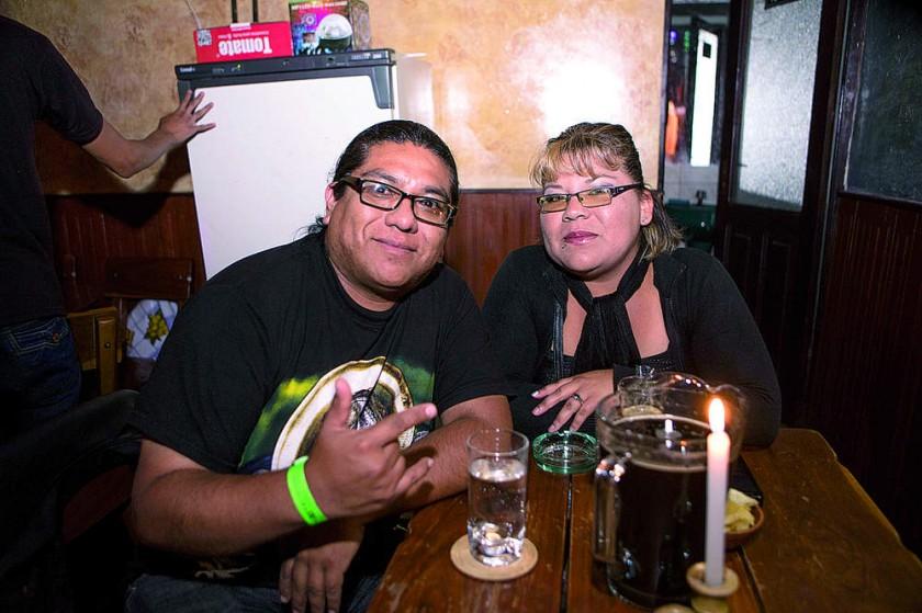 Nelson Córdoba y Carol Gutiérrez.