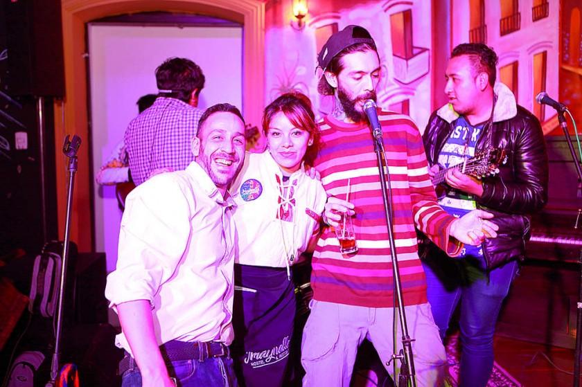 La cumpleañera Alejandra Marañón festejó su día con los amigos de Imaynalla