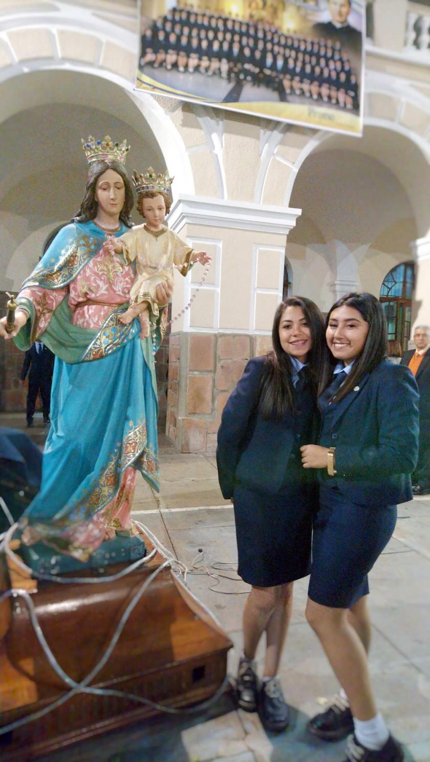 """Toma de nombre Promoción 2018  """"SUASCEV"""" del colegio Don Bosco"""