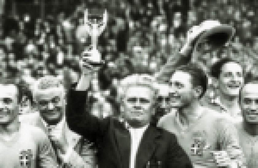 Pozzo, Zagallo, Beckenbauer y Löw, técnicos campeones del mundo.