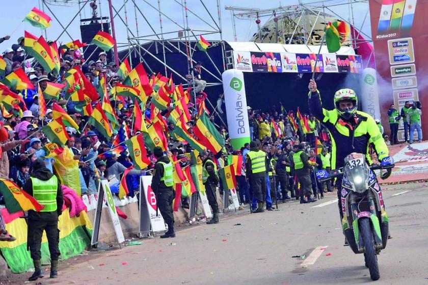 El Dakar no pasará por Bolivia luego de cinco versiones