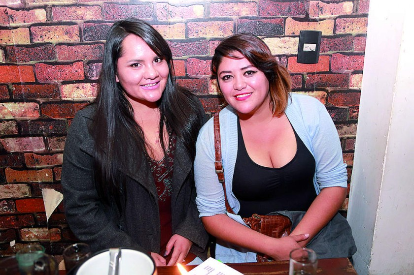 Viviana Rosado y Gabriela Quinteros.