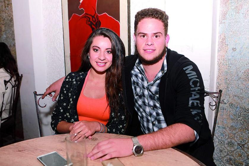 Laura Gómez y Miguel Rivasplata.