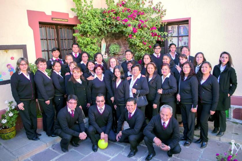 Personal docente del Colegio Boliviano Alemán.