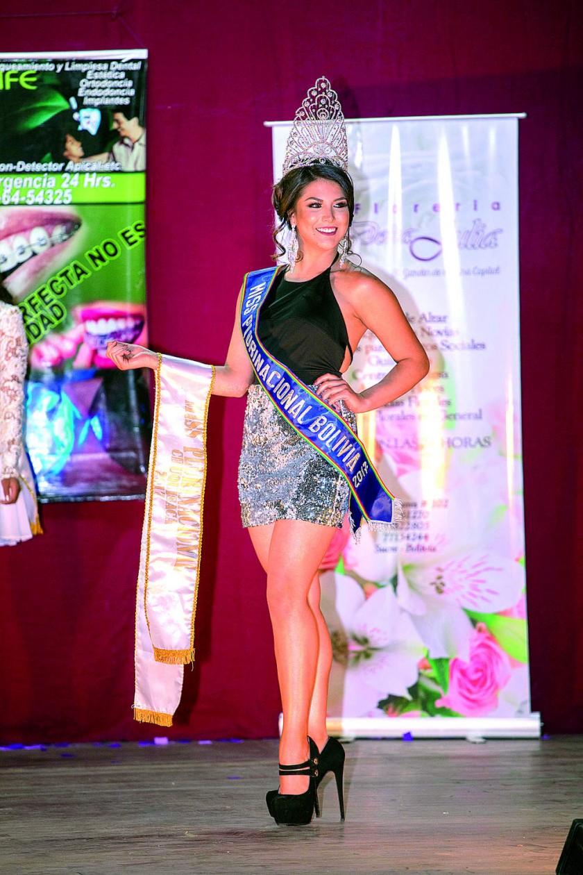 Natalia Rocha Avendaño, Miss Plurinacional Bolivia 2017.