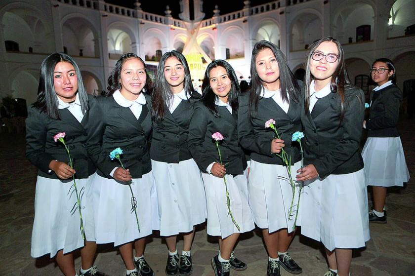 Promoción del Colegio  María Auxiliadora