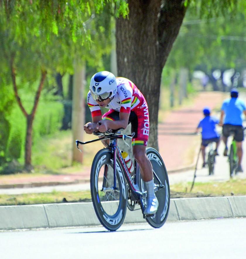 La nadadora Karen Torrez y el ciclista Freddy Gonzáles subieron al podio.