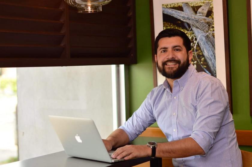Alejandro Rioja y Ariel Valverde, los fundadores de la Incubadora 6B Labs.