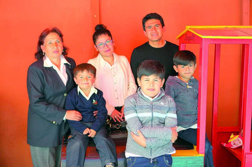 Familia Raya Aparicio.