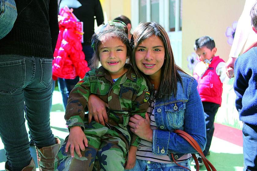 Abril Maldonado y Gabriela Melcón.