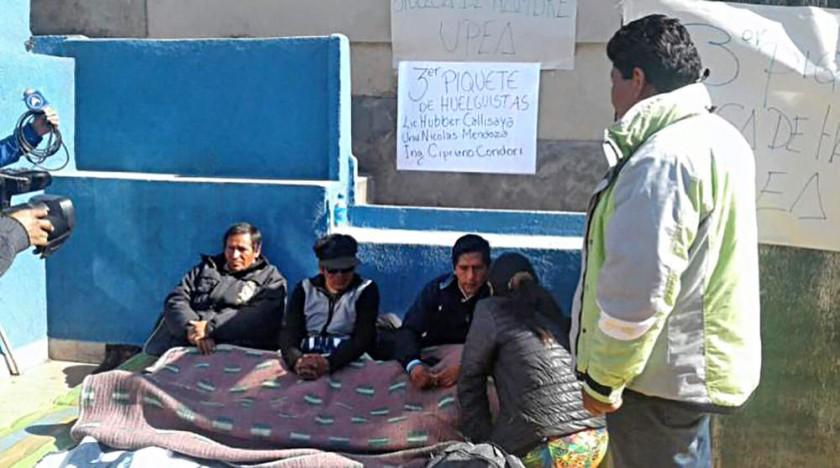 La huelga de hambre se masifica en El Alto y el diálogo no asoma