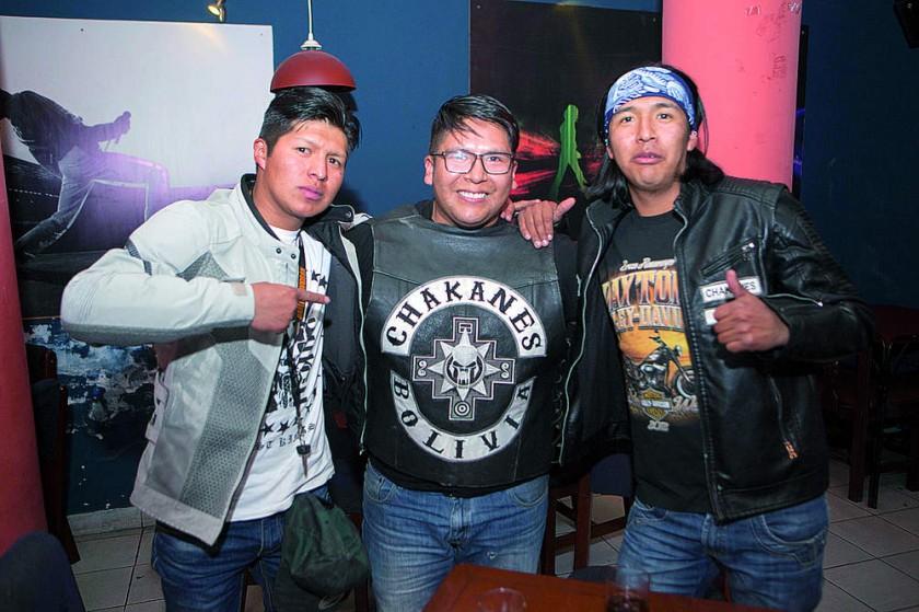 Grupo Chakanes de Bolivia.