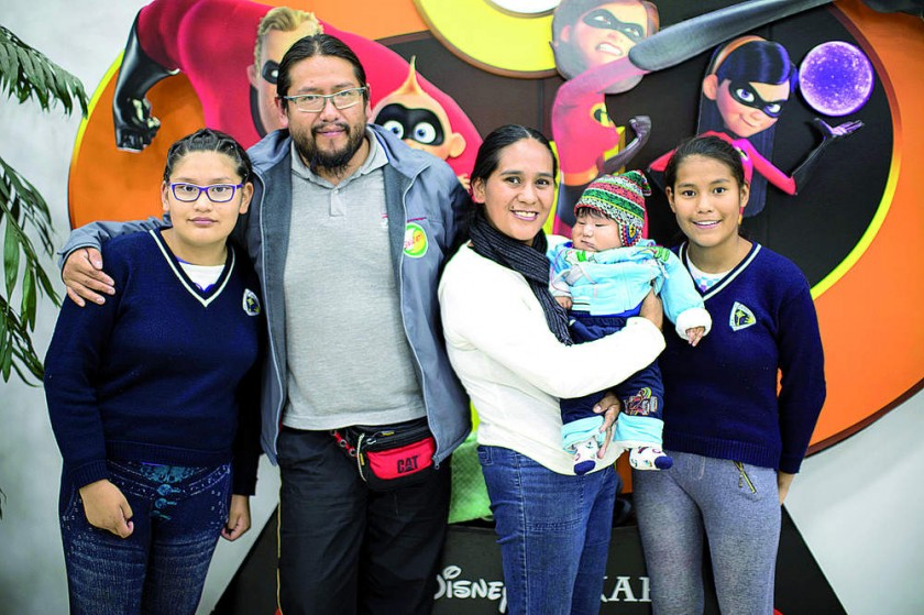 Familia Bernal y Ugarte.