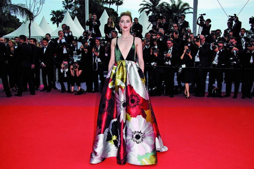 """Amber Heard asiste a la proyección de """"Sorry Angel"""" en Cannes. EFE/EPA/Clemens Bilan"""